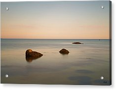 Acrylic Print featuring the photograph Gooseberry Island II Color by David Gordon