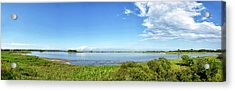 Acrylic Print featuring the photograph Gordons Pond Panorama - Cape Henlopen State Park - Delaware by Brendan Reals