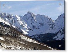 Gore Mountain Range Colorado Acrylic Print by Brendan Reals