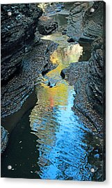Gorge Abstract Acrylic Print