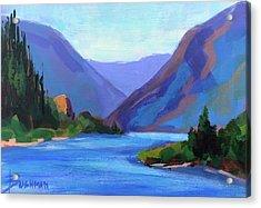 Gorge Classic Acrylic Print by Laurel Bushman