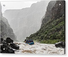 Gorge Squall Acrylic Print