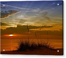 Gorgeous Sunset Acrylic Print by Melanie Viola