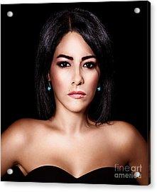 Gorgeous Woman Portrait Acrylic Print