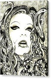 Gorgon Acrylic Print by Justin Kautz
