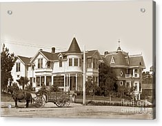 Gosby And Hart Homes On Lighthouse Ave. Acrylic Print