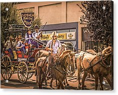Goshen Mounted Police Acrylic Print