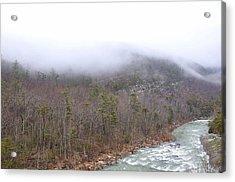 Goshen Pass Virginia 1 Acrylic Print by Todd Hostetter