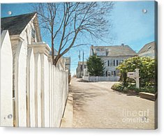 Gosnold St. Provincetown Acrylic Print