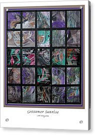 Gossamer Sunrise Acrylic Print