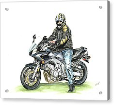 Got To Ride Acrylic Print