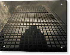 Acrylic Print featuring the photograph Gotham City by Lora Lee Chapman