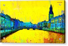 Gothenburg Sweden - Da Acrylic Print