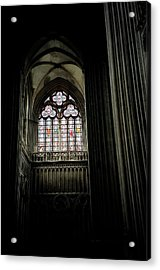 Gothic Cathedral Acrylic Print by Chris Brewington Photography LLC
