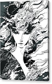 Gothic Legend Acrylic Print by Tbone Oliver