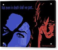 Gothic Love Acrylic Print