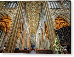 Gothic Style Acrylic Print by Adrian Evans