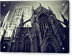 Acrylic Print featuring the photograph Gothic Perspectives by Jessica Jenney