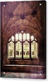 Acrylic Print featuring the photograph Gothic Window by Jill Battaglia