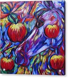 Gotta Luv Them Rosie Apples I Acrylic Print
