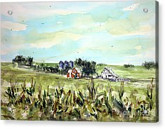 Gottsch's Green Acres Acrylic Print by Tim Ross