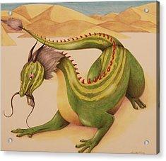 Gourd Dragon Acrylic Print