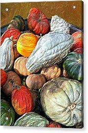 Gourd-jes Acrylic Print
