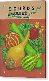Gourd Orange Acrylic Print