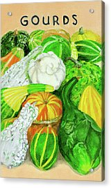Gourd Seed Packet Acrylic Print