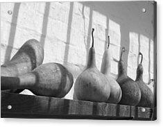 Gourds On A Shelf Acrylic Print by Lauri Novak