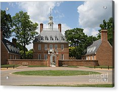 Governers Palace - Williamsburg Va Acrylic Print