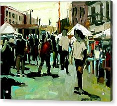 Government Street Acrylic Print by Brian Simons