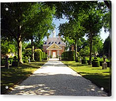 Governors Palace II Acrylic Print by Mark Currier