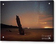 Gower Helvetia At Night  Acrylic Print