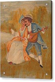 Goya Acrylic Print by Eckland Cort