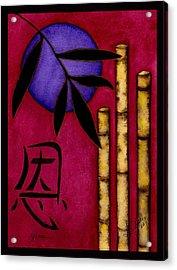 Grace - The Art Of Balance Acrylic Print by Stephanie  Jolley