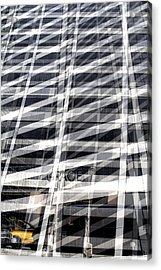Grace Building Collage 2 Acrylic Print