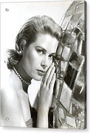 Grace Kelly, 1954 Acrylic Print by Everett