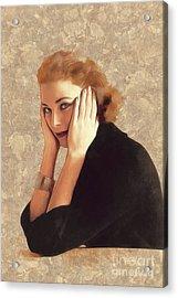 Grace Kelly, Hollywood Legend Acrylic Print
