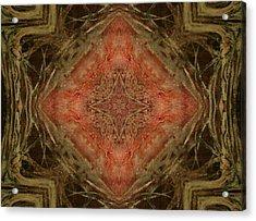 Grace Mandala Acrylic Print