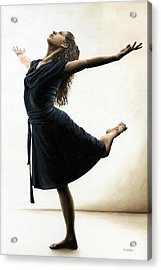 Graceful Enlightenment Acrylic Print by Richard Young
