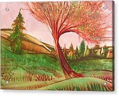 Graceful Acrylic Print by John Vandebrooke
