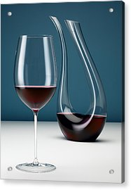 Graceful Merlot Acrylic Print by Michael Kraus