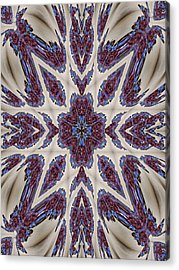 Graceful Tapestry Acrylic Print by Ricky Kendall