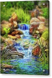 Graceful Waters Acrylic Print