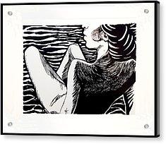 Lady Totems. Gracefulness.  Acrylic Print