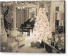 Graceland Holiday Acrylic Print by JAMART Photography