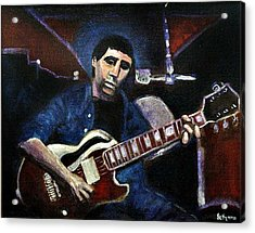 Acrylic Print featuring the painting Graceland Tribute To Paul Simon by Seth Weaver