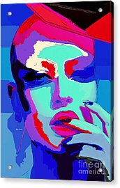 Acrylic Print featuring the digital art Graduated With Flying Colors by Rafael Salazar