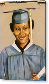 Graduation Acrylic Print